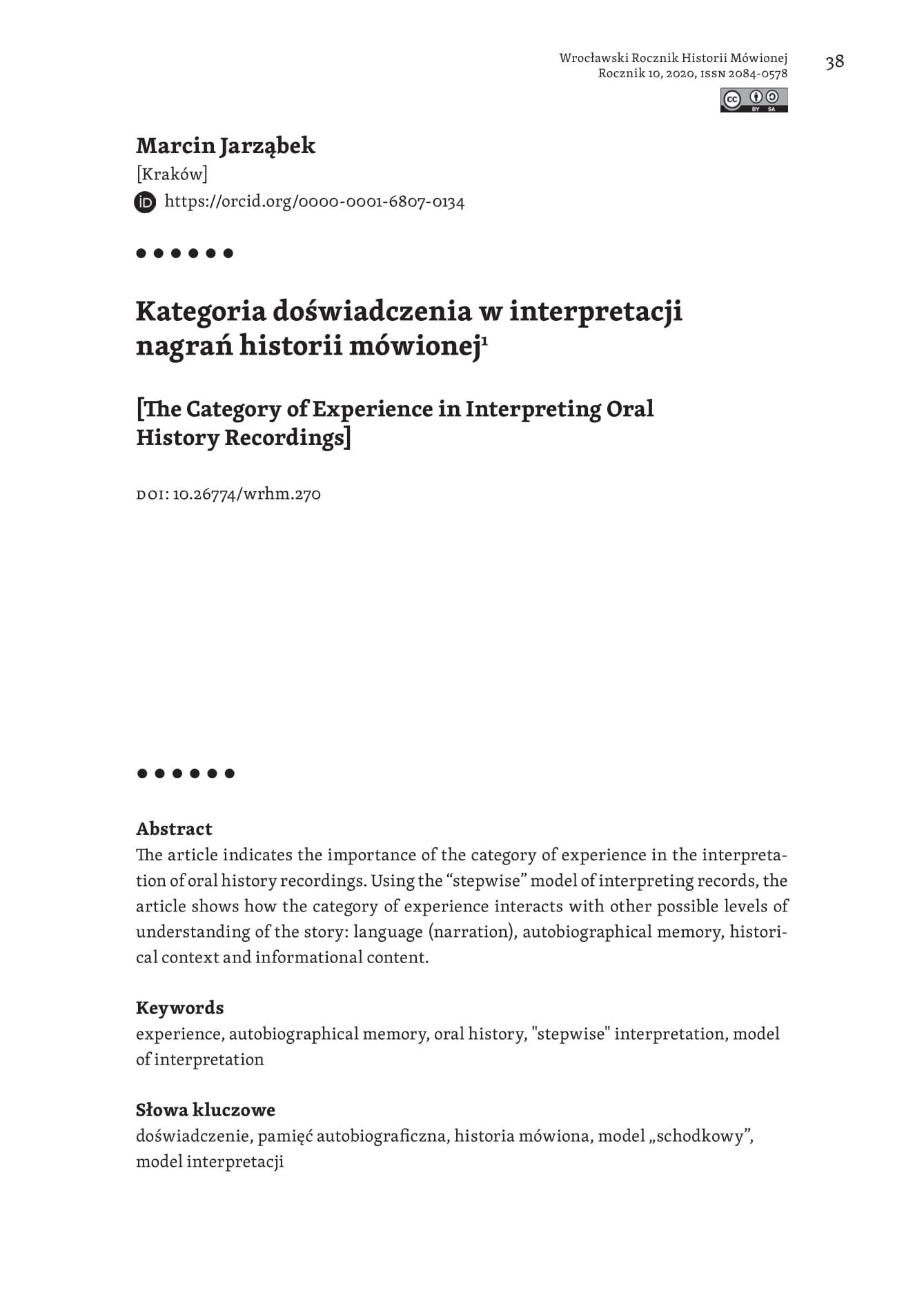 strona tytułowa_Marcin Jarząbek